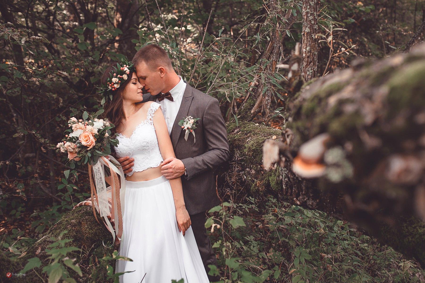 Лесная свадьба