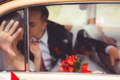 Поцелуй в машине