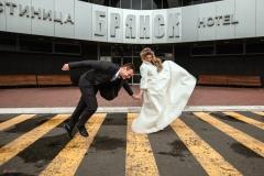 Позитивный момент на свадьбе